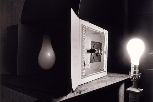 Abelardo Morell (American, b. Cuba 1948). Light Bulb. 1991. Gelatin silver print, 17 15/16 × 22 1/4ʺ (45.5 × 56.5 cm). Acquired through the generosity of Marian and James H. Cohen in memory of their son Michael Harrison Cohen. © 2016 Abelardo Morell