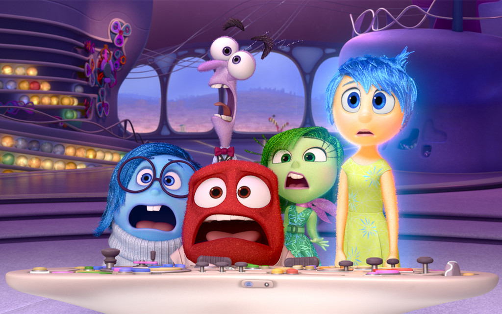 *Inside Out*. 2015. USA. Directed by Pete Docter. Courtesy of Walt Disney Studios Motion Pictures
