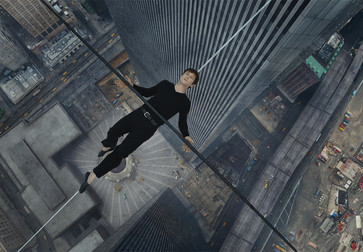 The Walk. 2015. USA. Directed by Robert Zemeckis. Courtesy of Sony Pictures