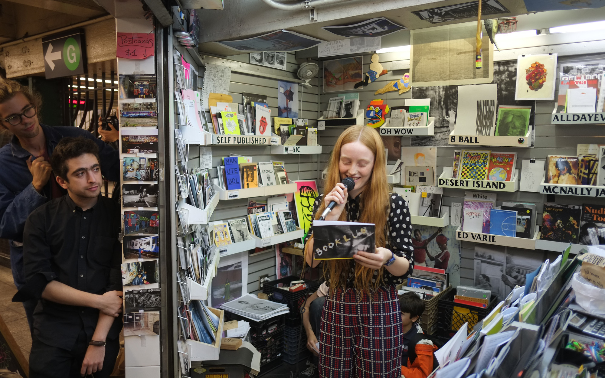 BOOKLUB at ​​The Newsstand​, ​2013​. Photograph: ​Lele Saveri​