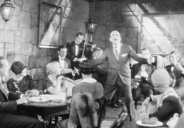 The Jazz Singer. 1927. USA. Directed by Alan Crosland and Gordon Hollingshead. Image courtesy Photofest