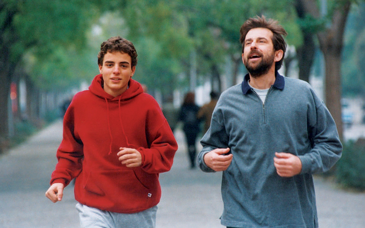 La Stanza Del Figlio (The Son's Room). 2001. Italy. Directed by Nanni Moretti. With Nanni Moretti, Laura Morante, Jasmine Trinca. Courtesy RAI