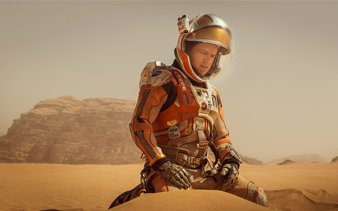 *The Martian*. 2015. USA. Directed by Ridley Scott.  Courtesy of Twentieth-Century Fox