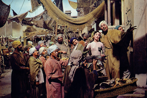 Kismet. 1955. USA. Directed by Vincente Minnelli. Courtesy MGM/Photofest