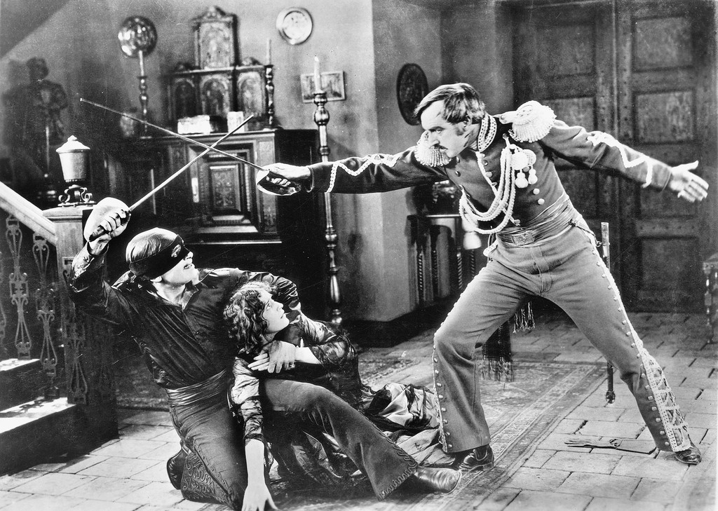 *The Mark of Zorro*. 1920. USA. Directed by Fred Niblo. Image courtesy MoMA Film Archives
