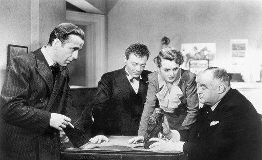 The Maltese Falcon. 1941. USA. Directed by John Huston. Image courtesy MoMA Film Archives