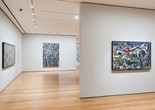 Installation view of <em>Jackson Pollock: A Collection Survey, 1934–1954</em>, The Museum of Modern Art, November 22, 2015–March 13, 2016. © 2015 The Museum of Modern Art, New York. Photo: Thomas Griesel