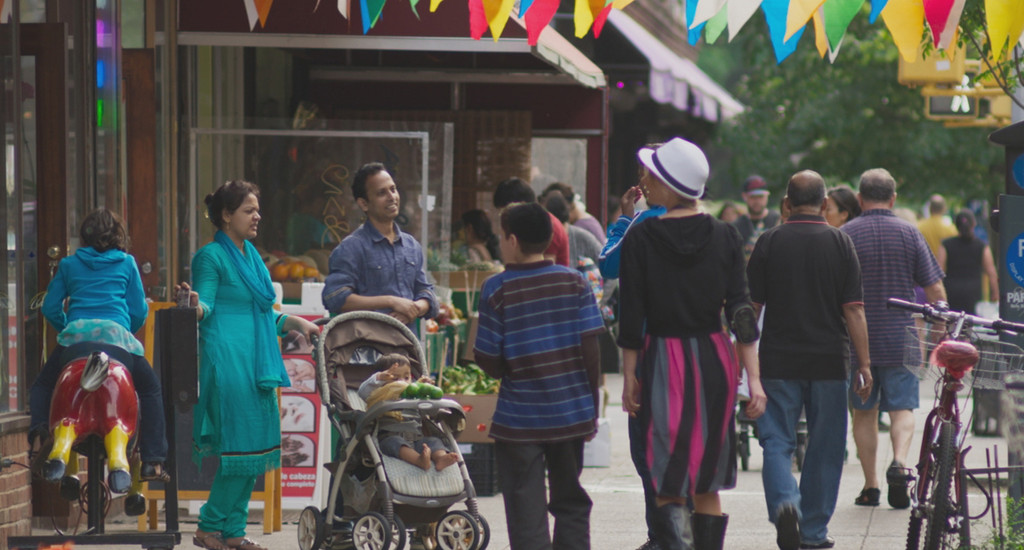 *In Jackson Heights*. 2015. USA. Directed by Frederick Wiseman. Courtesy of Zipporah Films