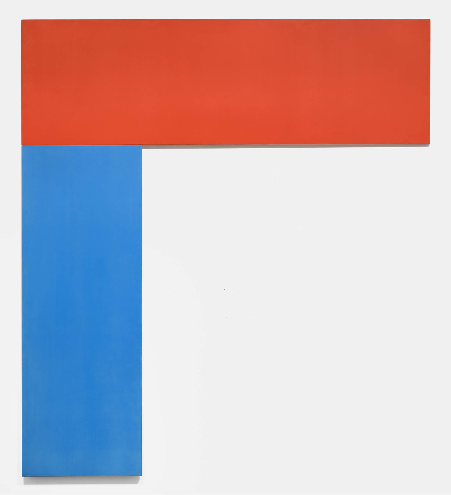 Ellsworth Kelly. Chatham VI: Red Blue. 1971. Oil on canvas, two panels, 9′ 6 1/2″ × 8′ 6 1/4″ (290.8 × 259.7 cm). Gift of Douglas S. Cramer Foundation. © 2016 Ellsworth Kelly