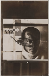 El Lissitzky. Self-Portrait. 1924. Gelatin silver print, 3 × 3 3/8″ (7.6 × 8.5 cm). The Museum of Modern Art, New York. Thomas Walther Collection. Purchase. © 2011 Artists Rights Society (ARS), New York/VG Bild-Kunst, Bonn