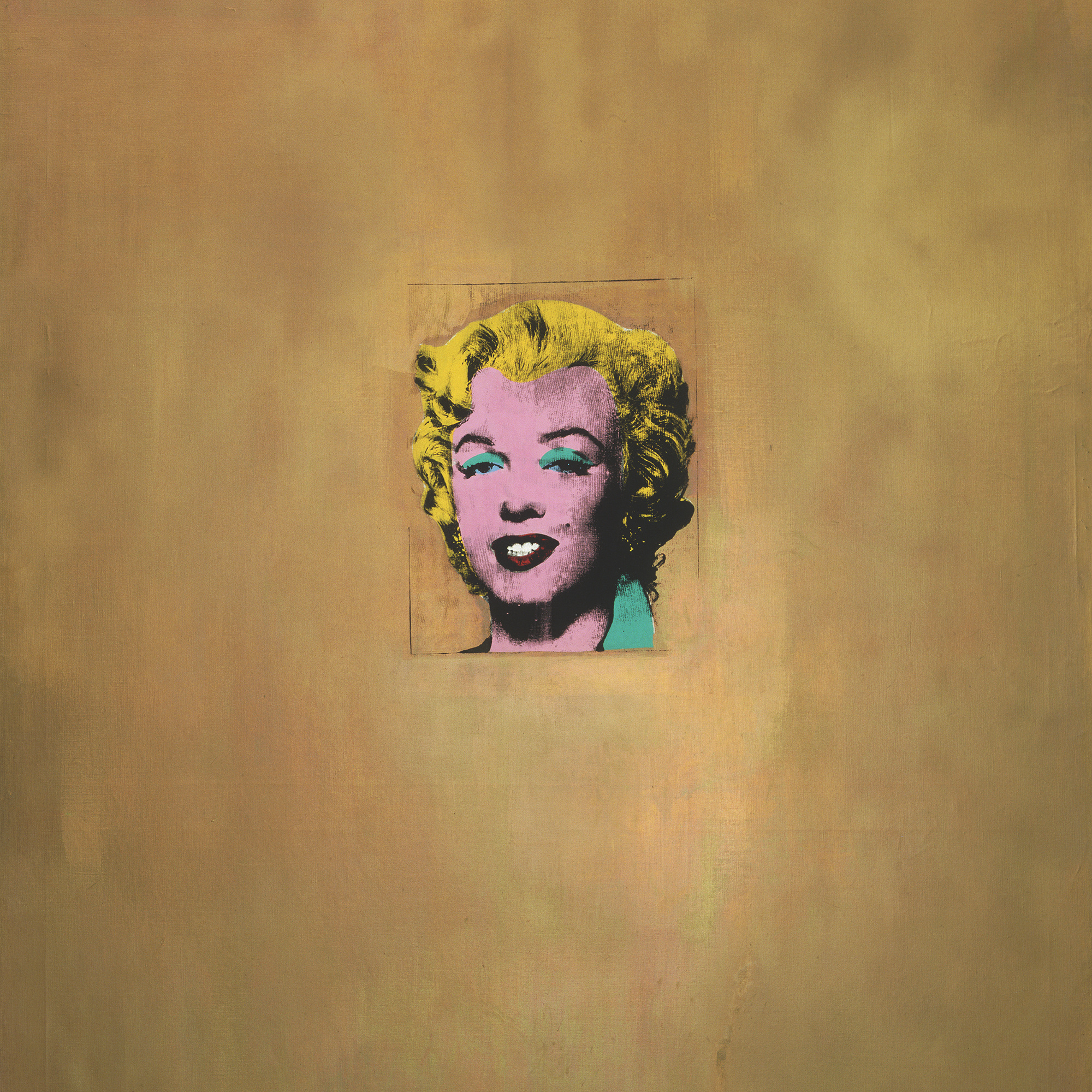 on to pop moma andy warhol gold marilyn monroe 1962 silkscreen ink on synthetic polymer paint on