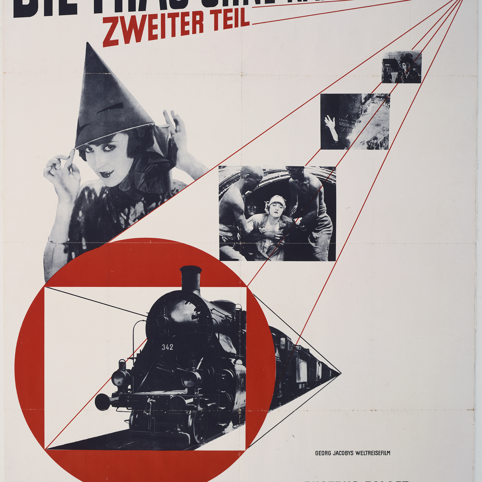 "Jan Tschichold. Die Frau ohne Namen. 1927. Offset lithograph, 48 3⁄4 x 34"" (123.8 x 86.4 cm). The Museum of Modern Art. Peter Stone Poster Fund"