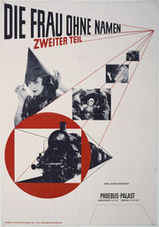 Jan Tschichold. Die Frau ohne Namen. 1927. Offset lithograph, 48 3/4 × 34″ (123.8 × 86.4 cm). The Museum of Modern Art. Peter Stone Poster Fund