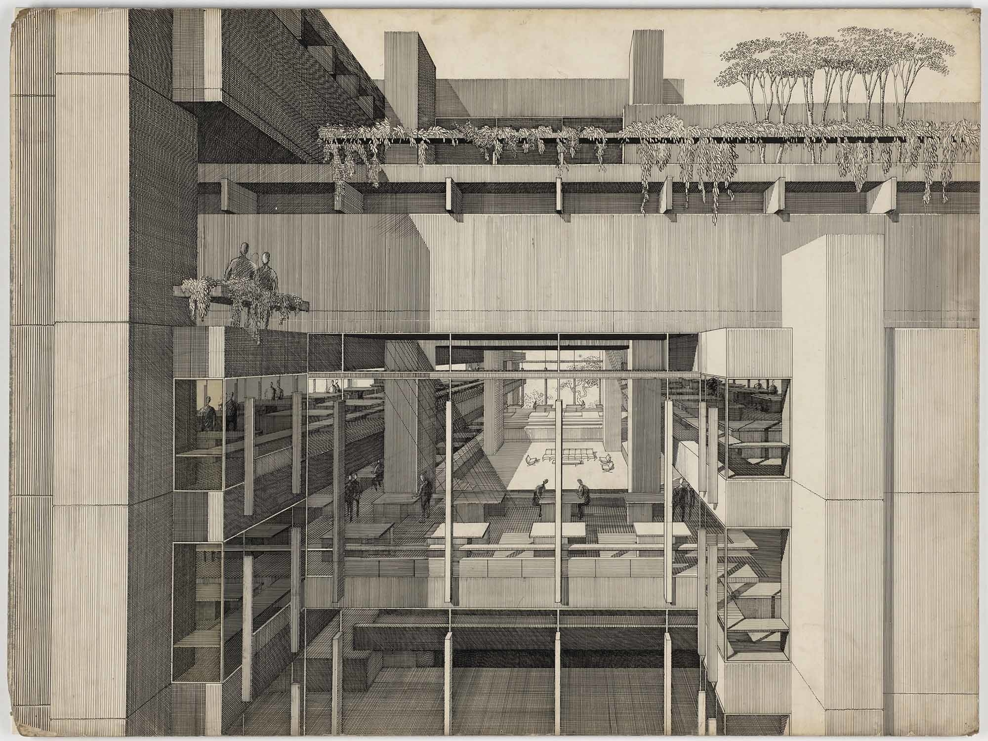 Art Calendar Yale : Years of architecture at moma