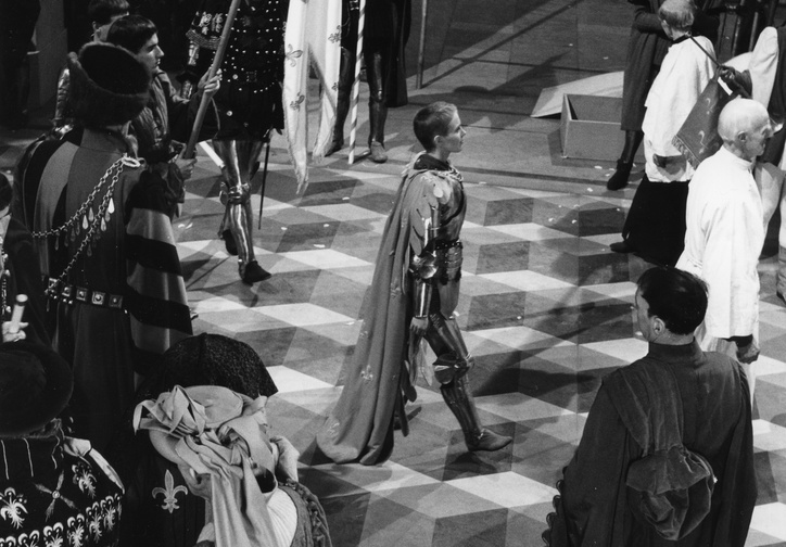 Saint Joan. 1957. USA. Directed by Otto Preminger