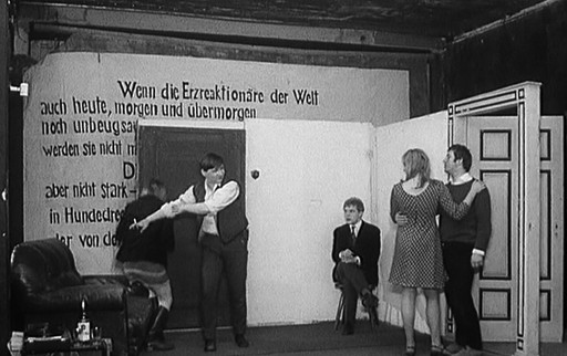 Der Bräutigam, die Komödiantin und der Zuhälter (The Bridegroom, the Actress, and the Pimp). 1968. West Germany. Written and directed by Danièle Huillet, Jean-Marie Straub