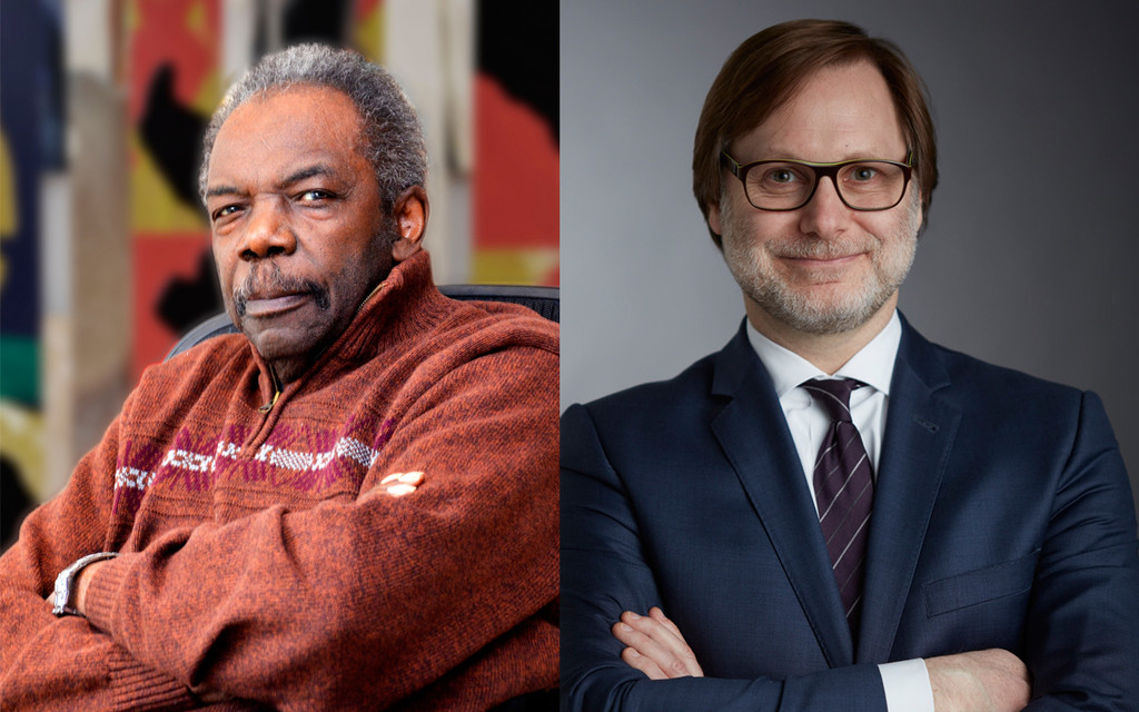 Sam Gilliam by Stephen Frietch, and Jonathan Binstock by Myers Creative Imaging, Rochester