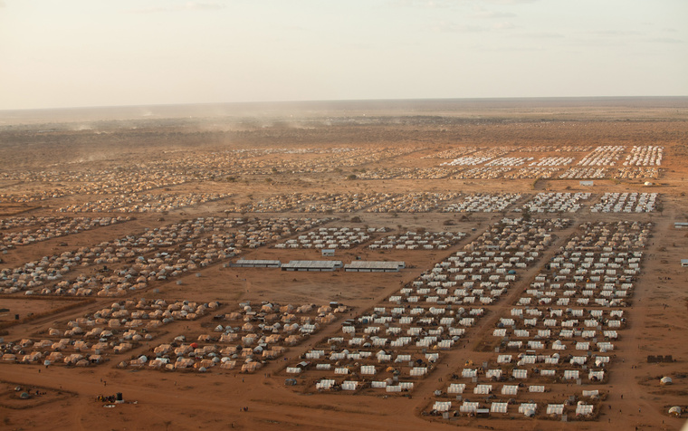 Brendan Bannon. *Ifo 2, Dadaab Refugee Camp.* 2011. Courtesy of Brendan Bannon