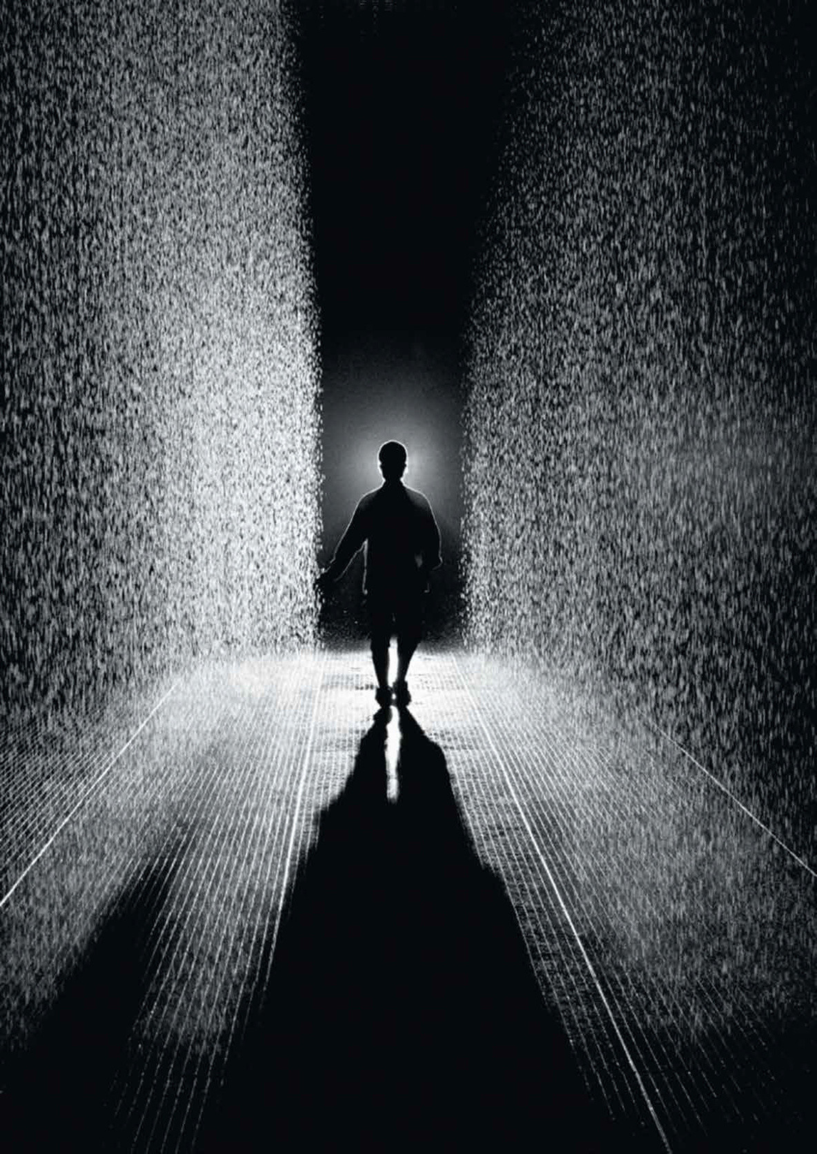 Random International. Rain Room. 2012. Photo courtesy of the artist