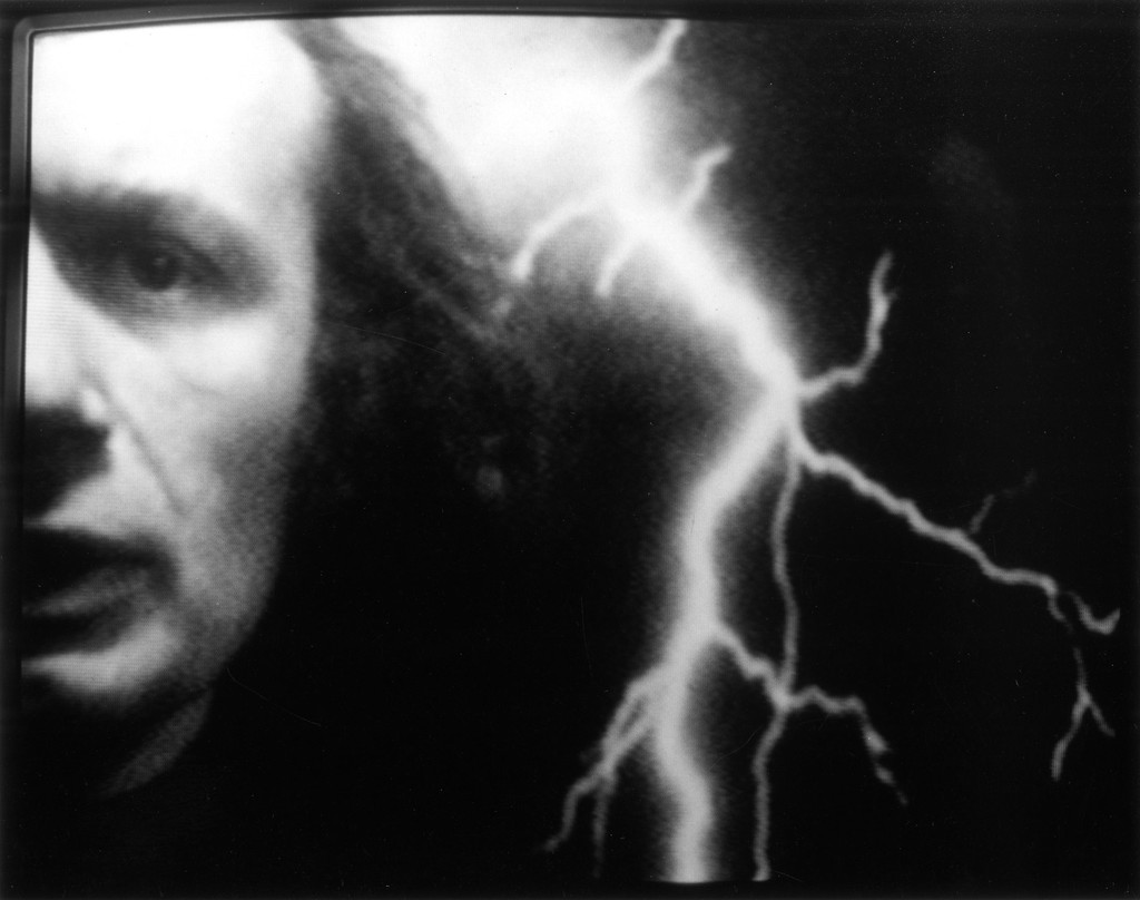 Vito Acconci. *The Red Tapes*. 1977. Video (black and white, sound). Courtesy Electronic Arts Intermix (EAI), New York