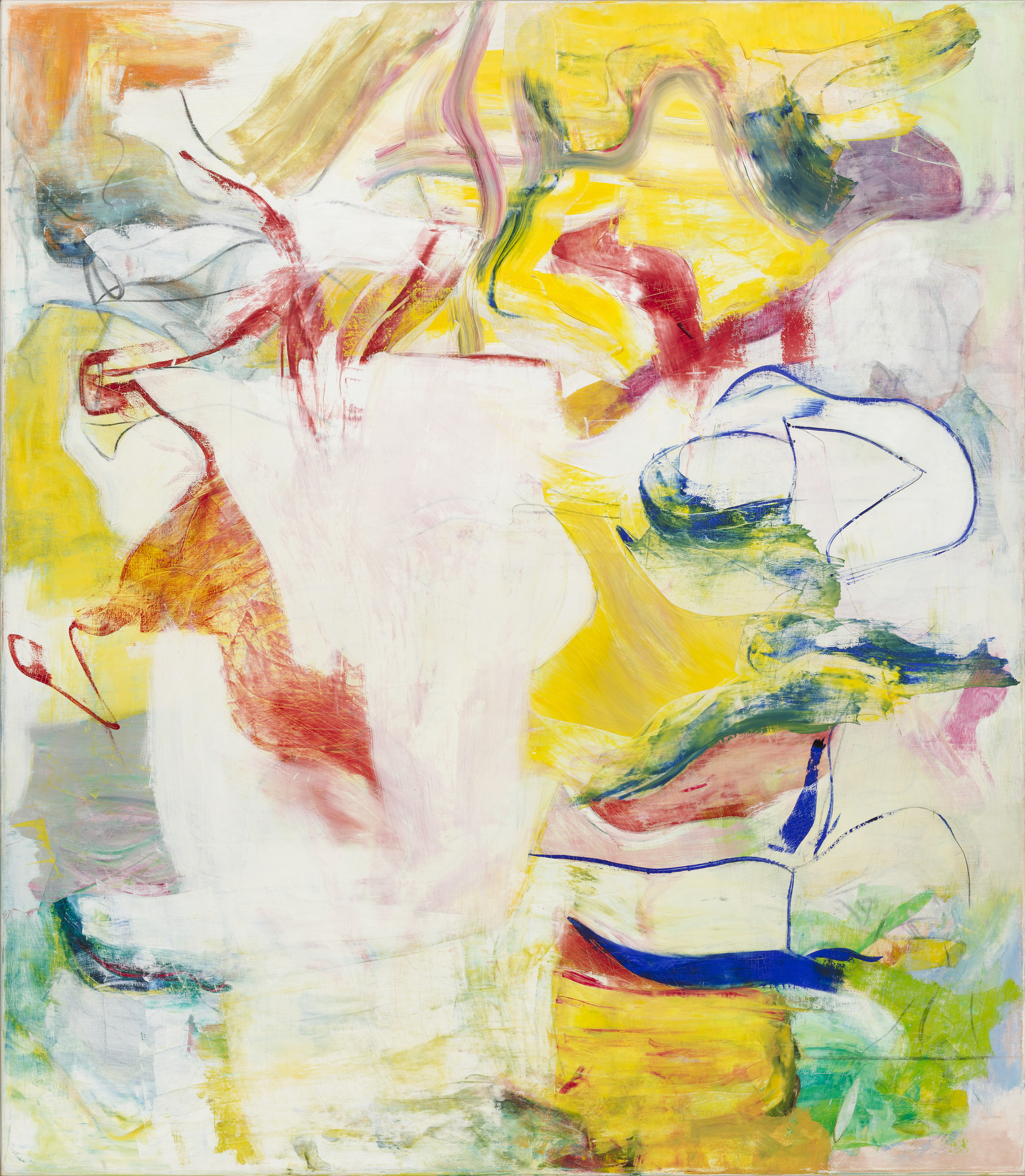 Willem de Kooning. Pirate (Untitled II). 1981. Oil on canvas. 88 × 76 3/4″. The Museum of Modern Art, New York. Sidney and Harriet Janis Collection Fund. © 1997 Willem de Kooning Revocable Trust/Artists Rights Society (ARS), New York.