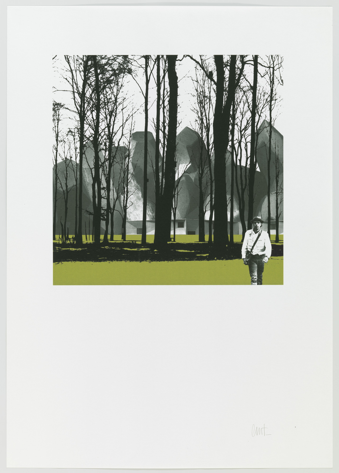Mansilla+Tuñón, Arquitectos, Madrid. Museum of Cantabria, Santander, Spain. 2002–2009. Print. Gift of the architects.