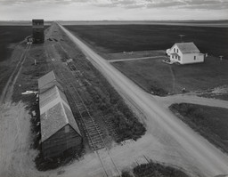 John Szarkowski. From Country Elevator, Red River Valley. 1957. Gelatin silver print, 10 5/16 × 13 1/4″ (26.2 × 33.6 cm). The Museum of Modern Art. The Family of Man Fund. © John Szarkowski