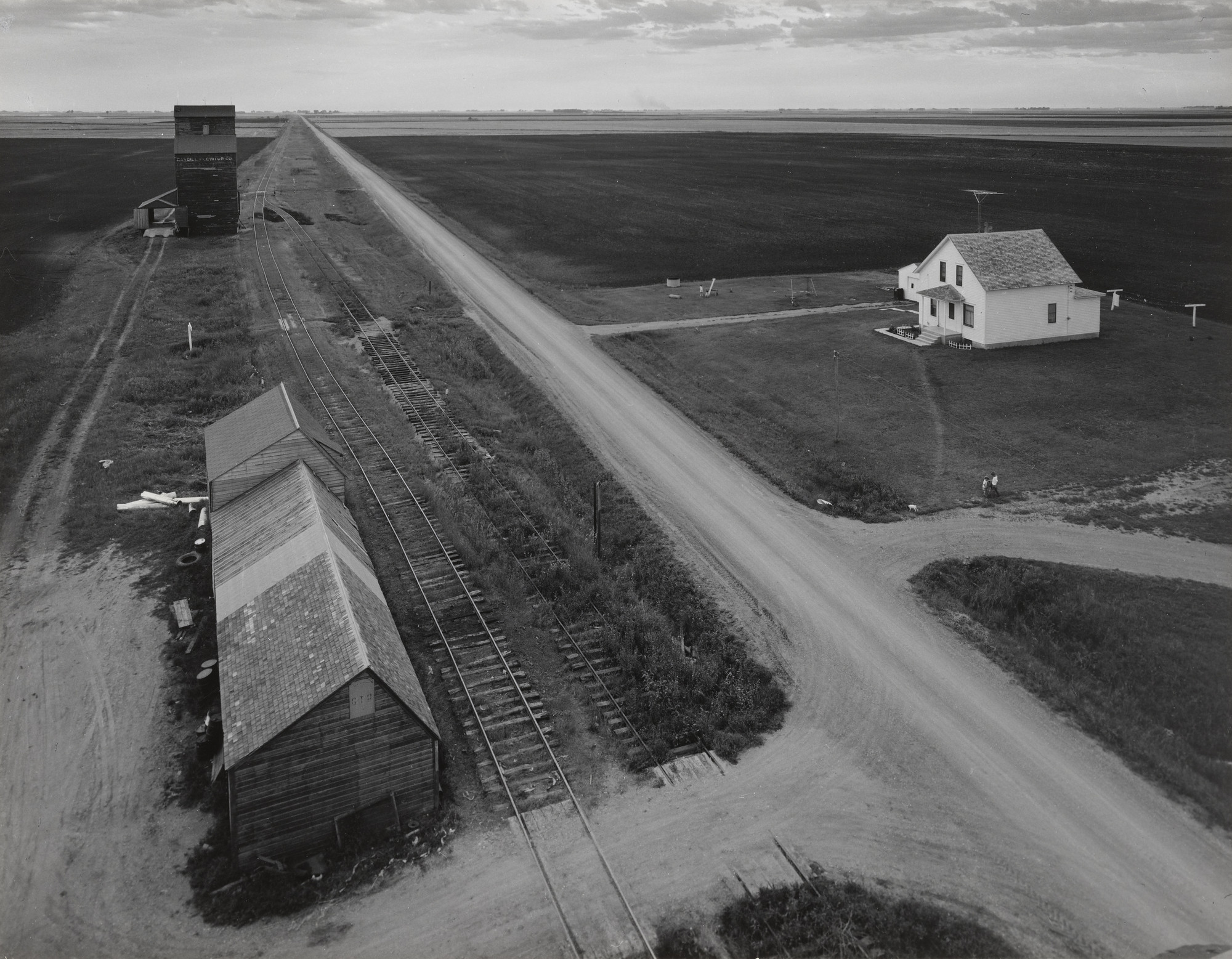 John Szarkowski. From Country Elevator, Red River Valley. 1957. Gelatin silver print, 10 5⁄16 × 13 1/4″ (26.2 × 33.6 cm). The Museum of Modern Art. The Family of Man Fund. © John Szarkowski