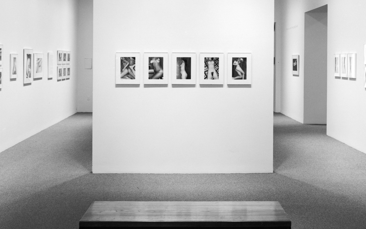 Installation view of *Lee Friedlander: Nudes* at The Museum of Modern Art, New York. Photo: Mali Olatunji