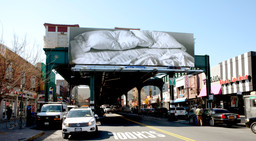 Felix Gonzalez-Torres. *Untitled (billboard).* 1996. Gift of Werner and Elaine Dannheisser. Photo: David Allison