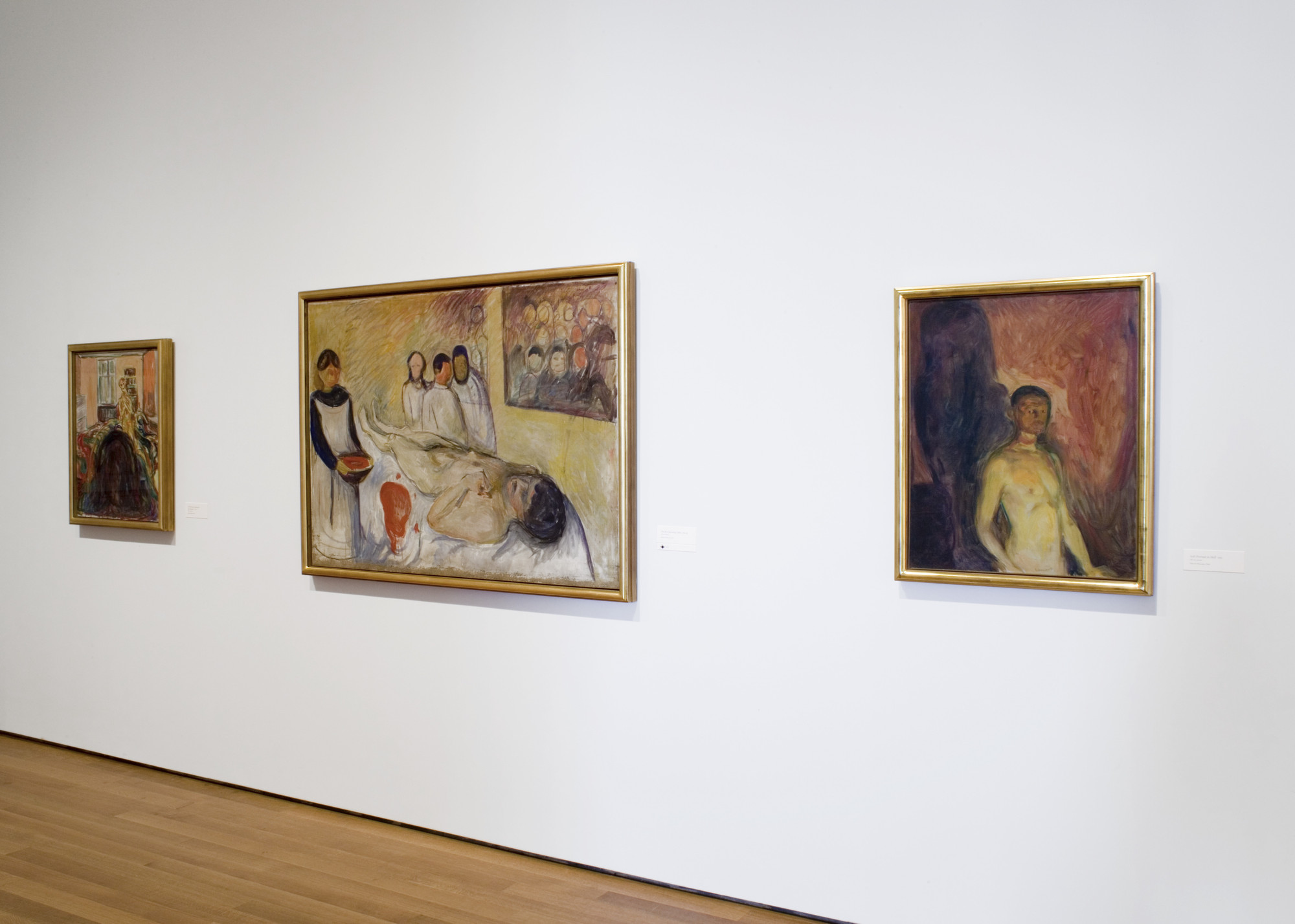 Installation view of Edvard Munch: The Modern Life of the Soul. Photo: Thomas Griesel