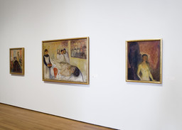 Installation view of *Edvard Munch: The Modern Life of the Soul.* Photo: Thomas Griesel