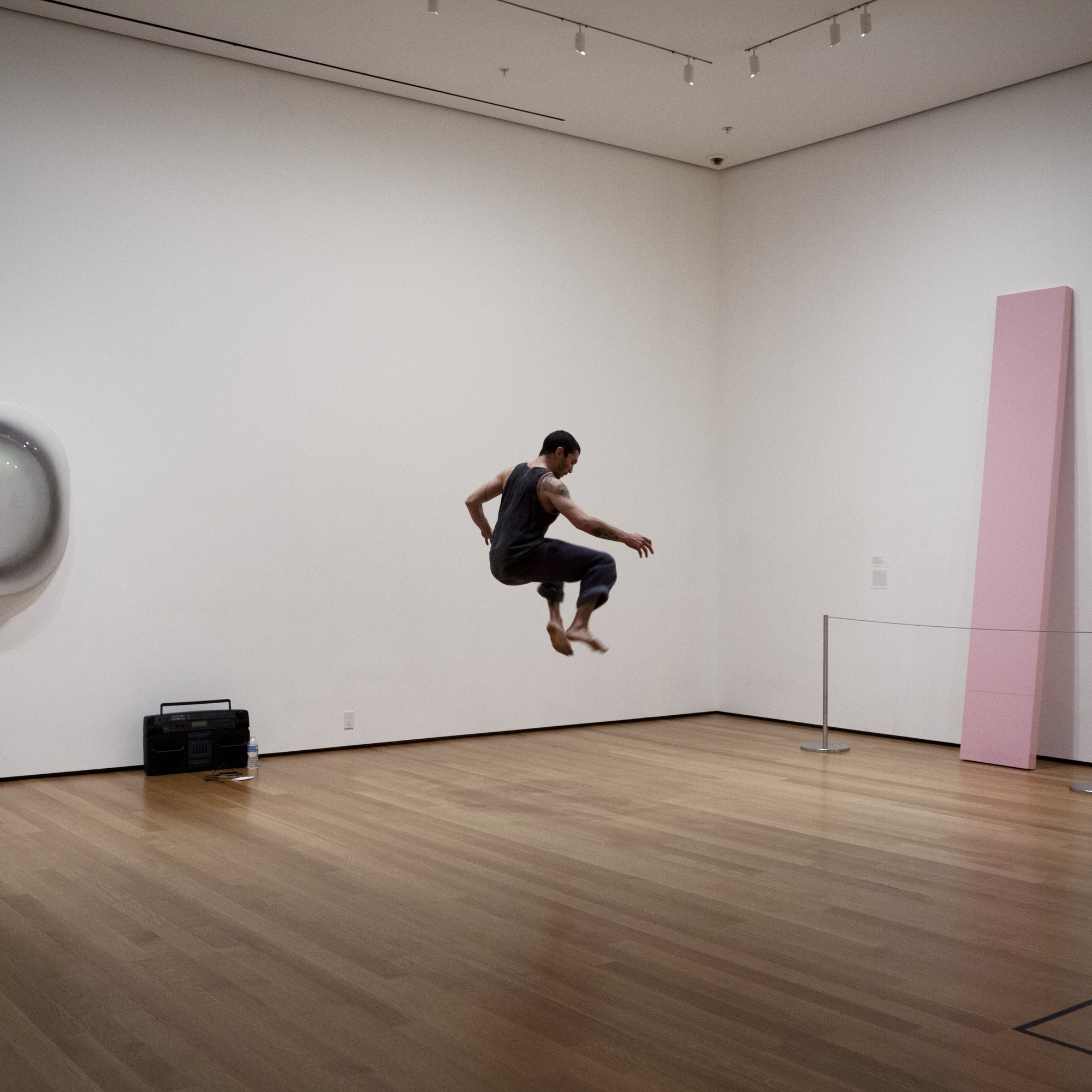 Ashley Chen in 20 Dancers for the XX Century at The Museum of Modern Art, 2013. Part of Musée de la danse: Three Collective Gestures (October 18–November 3, 2013). Photograph © 2013 The Museum of Modern Art, New York. Photo: Julieta Cervantes