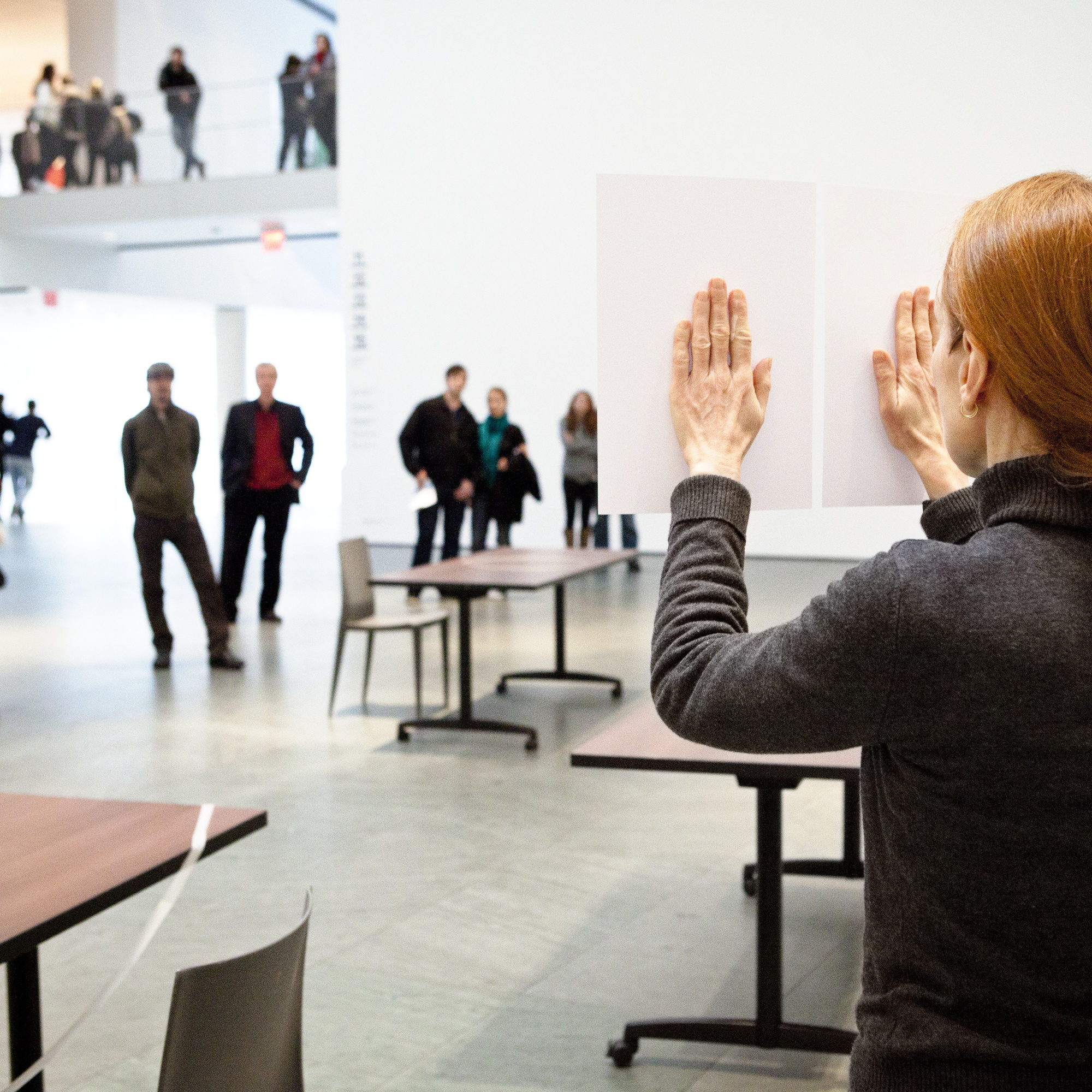 Marie Cool and Fabio Balducci. Untitled. 2006. Performed at The Museum of Modern Art, 2011. © 2011 Yi-Chun Wu / The Museum of Modern Art, New York