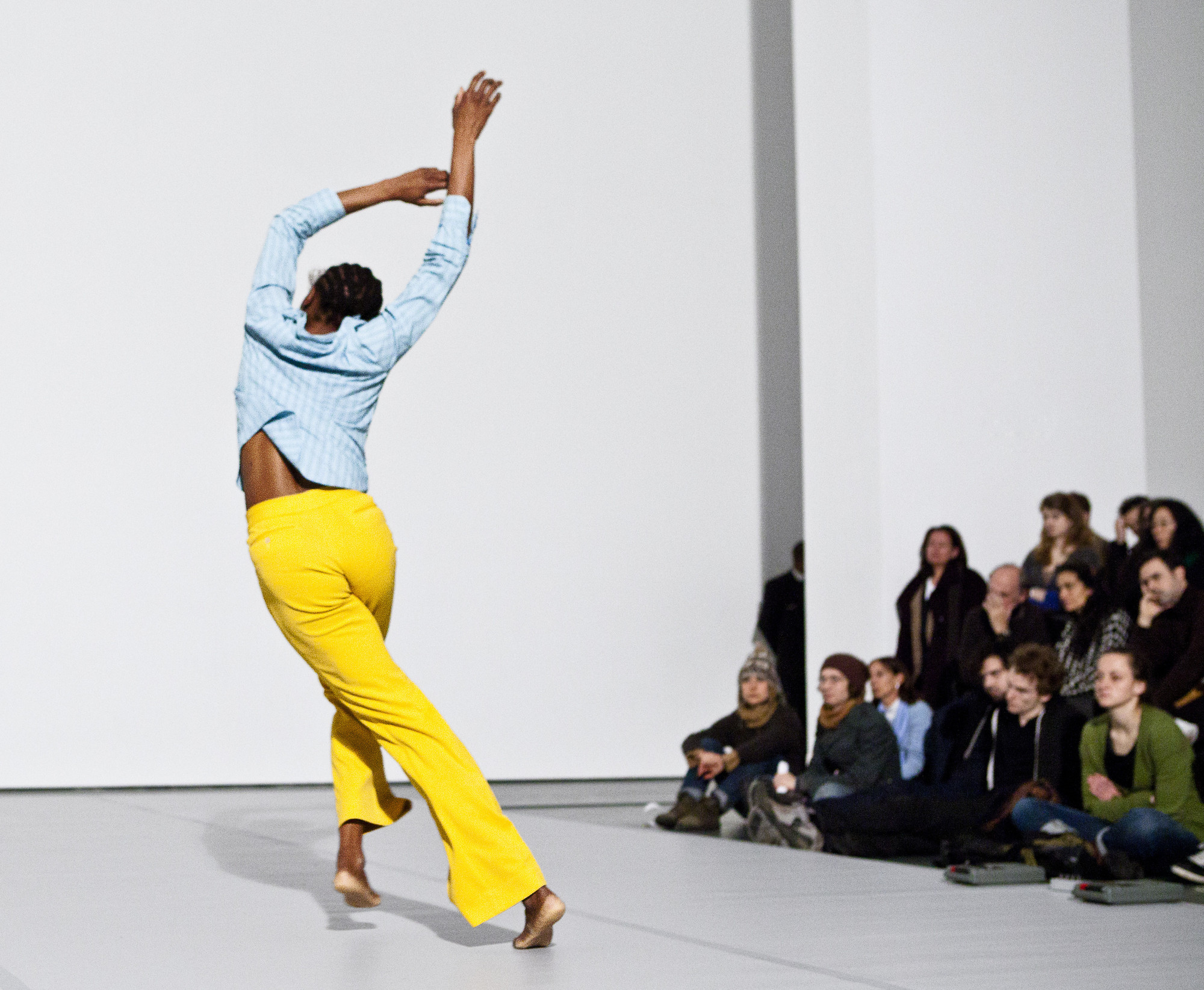 Ralph Lemon. Untitled. 2008. Performed at The Museum of Modern Art, 2011. With Okwui Okpokwasili. © 2011 Yi-Chun Wu / The Museum of Modern Art