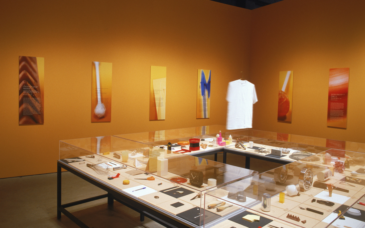 Installation view of *Humble Masterpieces* at The Museum of Modern Art, New York. Photo: John Wronn