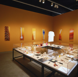 Installation view of Humble Masterpieces at The Museum of Modern Art, New York. Photo: John Wronn