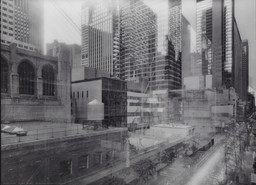 Michael Wesely. *7 August 2001–7 June 2004 The Museum of Modern Art, New York.* 2001–04. Chromogenic color print, 78 3/4 × 108 1/4″ (200 × 275 cm). Purchase. © 2016 Artists Rights Society (ARS), New York / VG Bild-Kunst, Bonn
