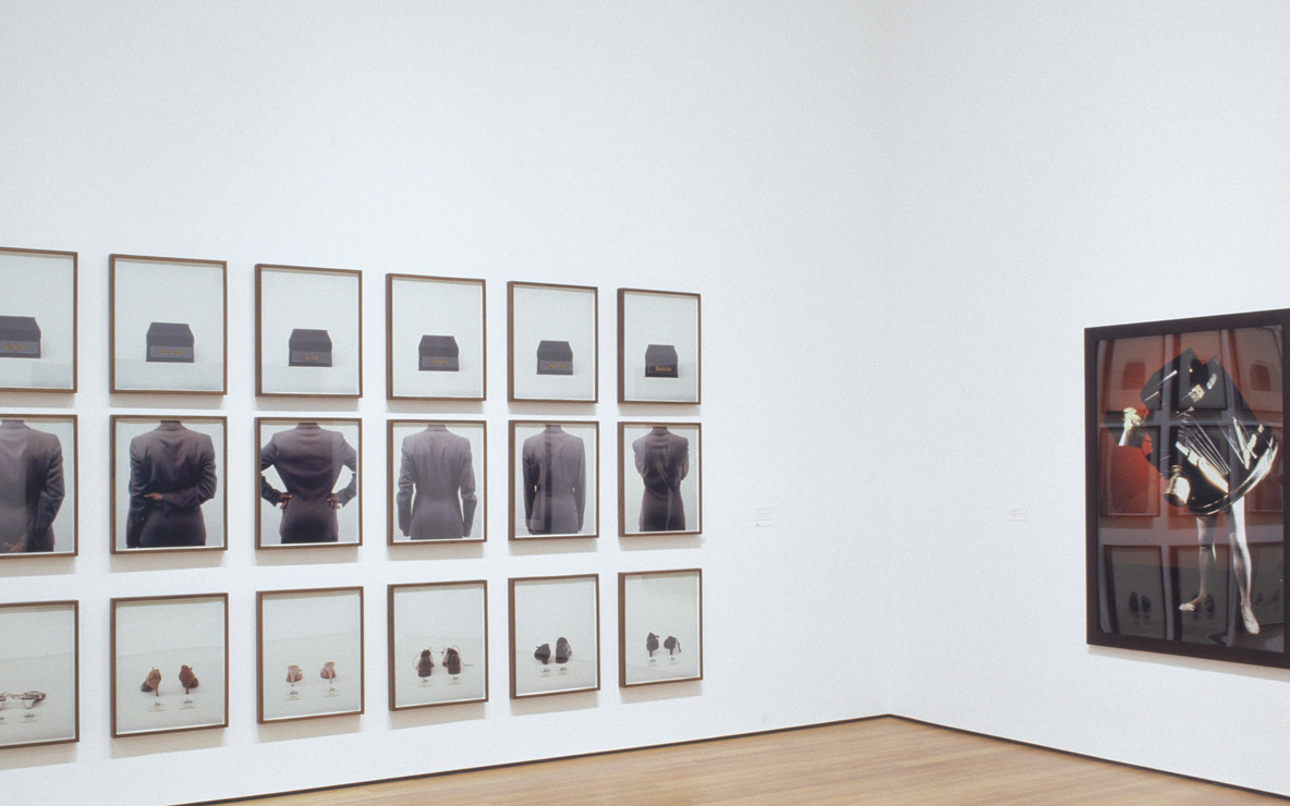 Installation view of *Contemporary Voices: Works from The UBS Art Collection* at The Museum of Modern Art, New York. Photo: Thomas Griesel