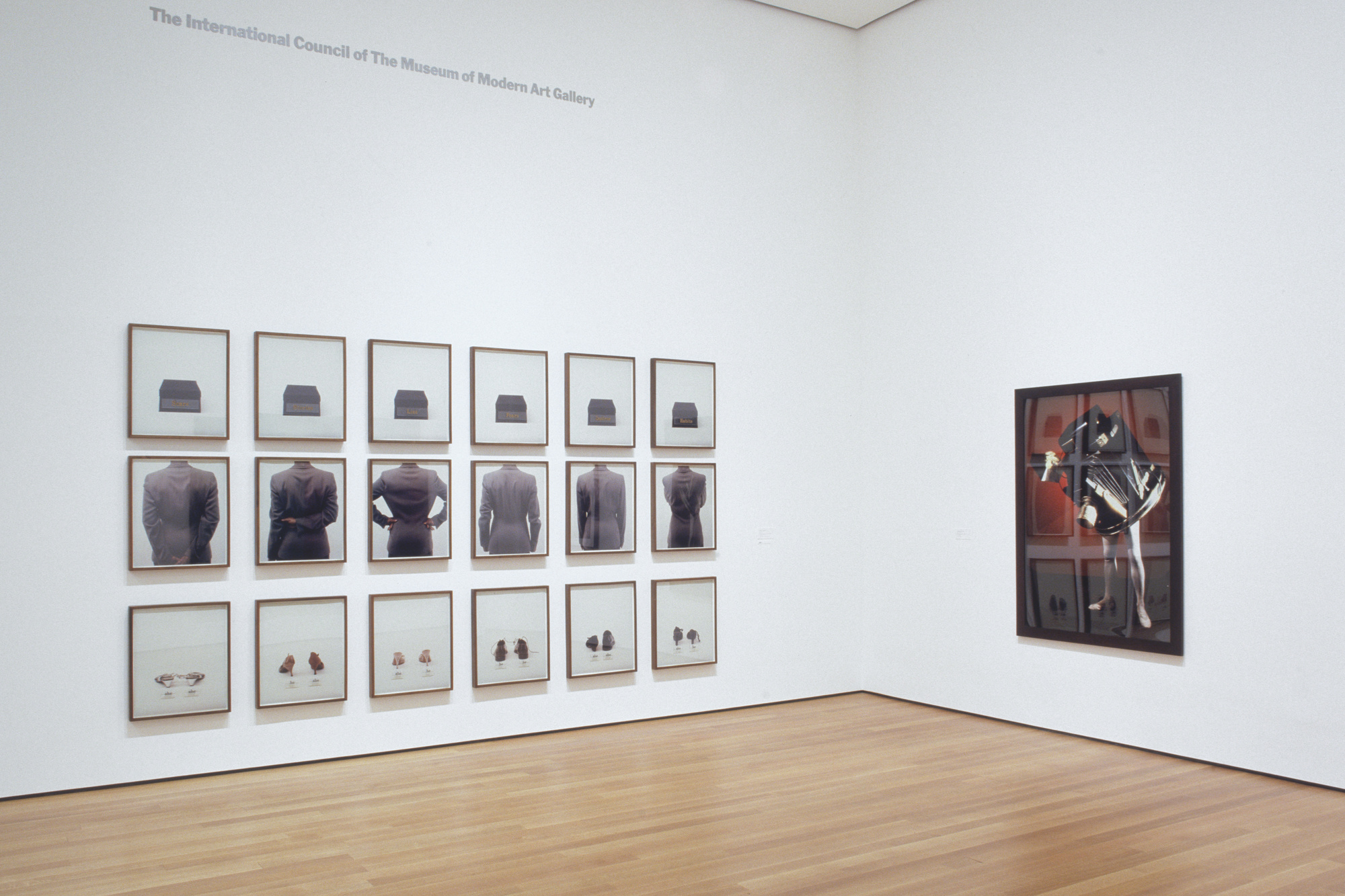 Installation view of Contemporary Voices: Works from The UBS Art Collection at The Museum of Modern Art, New York. Photo: Thomas Griesel