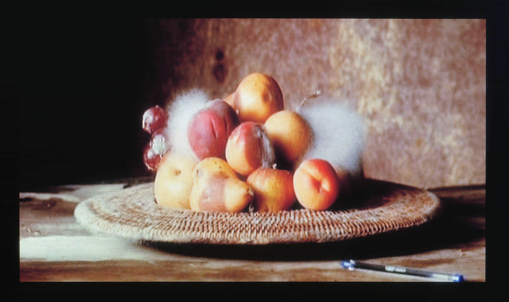 Sam Taylor-Wood. Still Life. 2001. 35 mm film transferred to DVD, 3 minutes, 44 seconds. Photo: Courtesy Jay Jopling/White Cube (London)