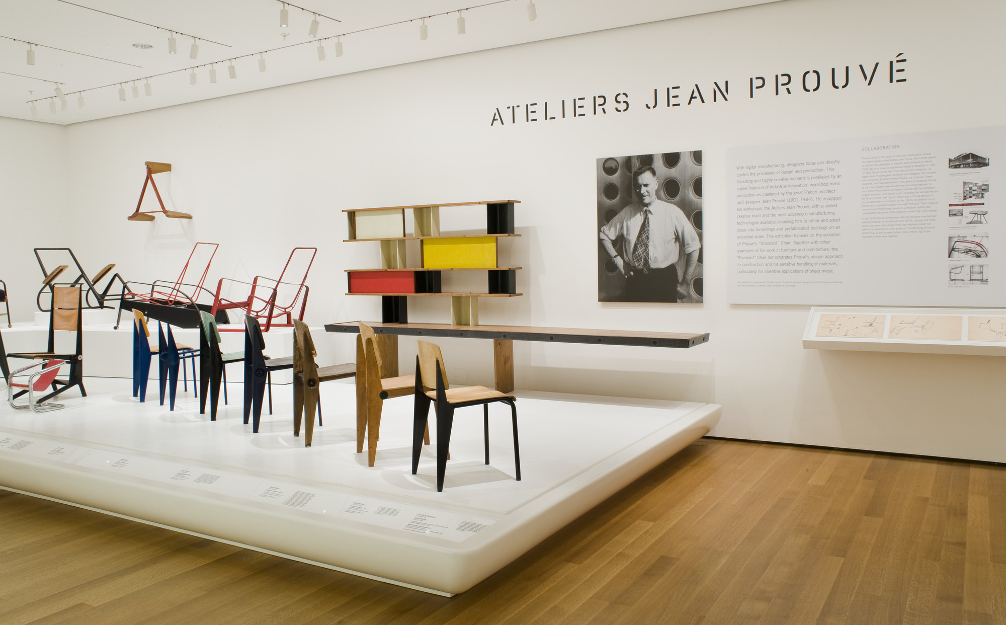 Ateliers jean prouv moma for Furniture design exhibition