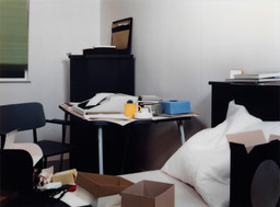 Thomas Demand. *Room (Zimmer).* 1996. Chromogenic color print. 67 3/4″ × 7′ 7 3/8″ (172 × 232 cm). The Museum of Modern Art, New York. Gift of the Nina W. Werblow Charitable Trust. © 2005 Thomas Demand