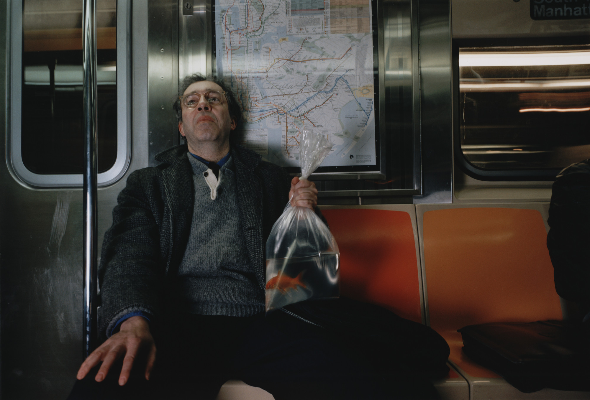 Philip-Lorca diCorcia. Igor. 1987. Chromogenic color print (Ektacolor), 15 11/16 × 22 7/8″ (39.8 × 58.1 cm). The Museum of Modern Art, New York. Gift of Carol and Arthur Goldberg