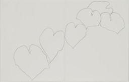 Ellsworth Kelly. *Wild Grape.* 1960. Pencil on two sheets of paper, overall: 28 1/2 × 25″ (72.4 × 114.3 cm). The Museum of Modern Art, New York. Gift of Kathy and Richard Fuld, Jr. in honor of Ellsworth Kelly's 80th birthday. © 2003 Ellsworth Kelly