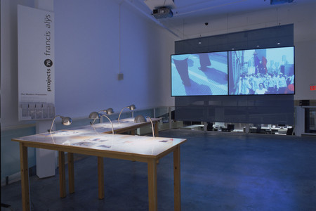 Installation view of Projects 76: Francis Alÿs