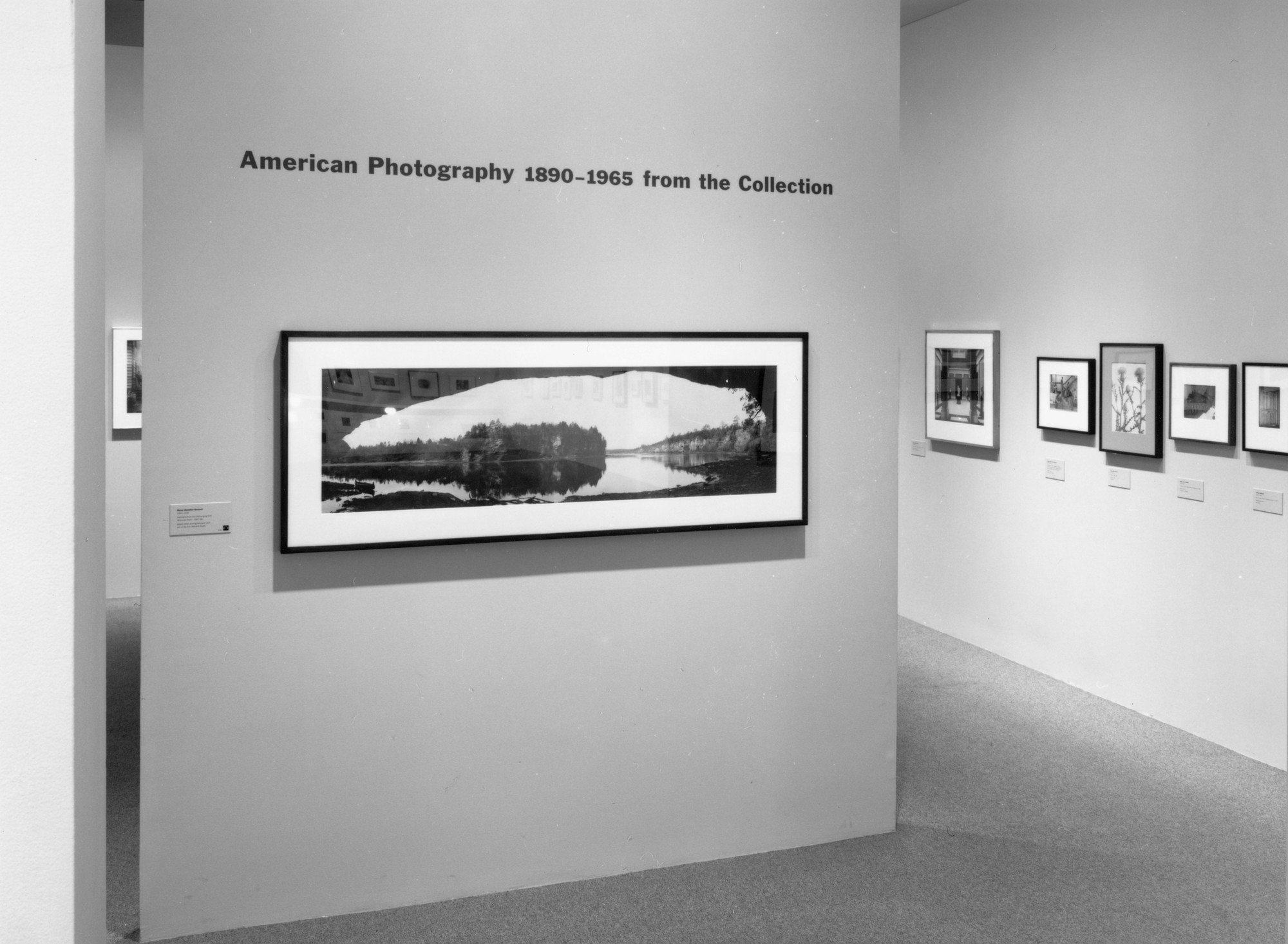 Installation view of American Photography 1890–1965 from the Collection at The Museum of Modern Art, New York. Photo: Thomas Griesel