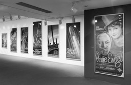 Installation view of UFA Film Posters, 1918–1943 at The Museum of Modern Art, New York. Photo: Thomas Griesel