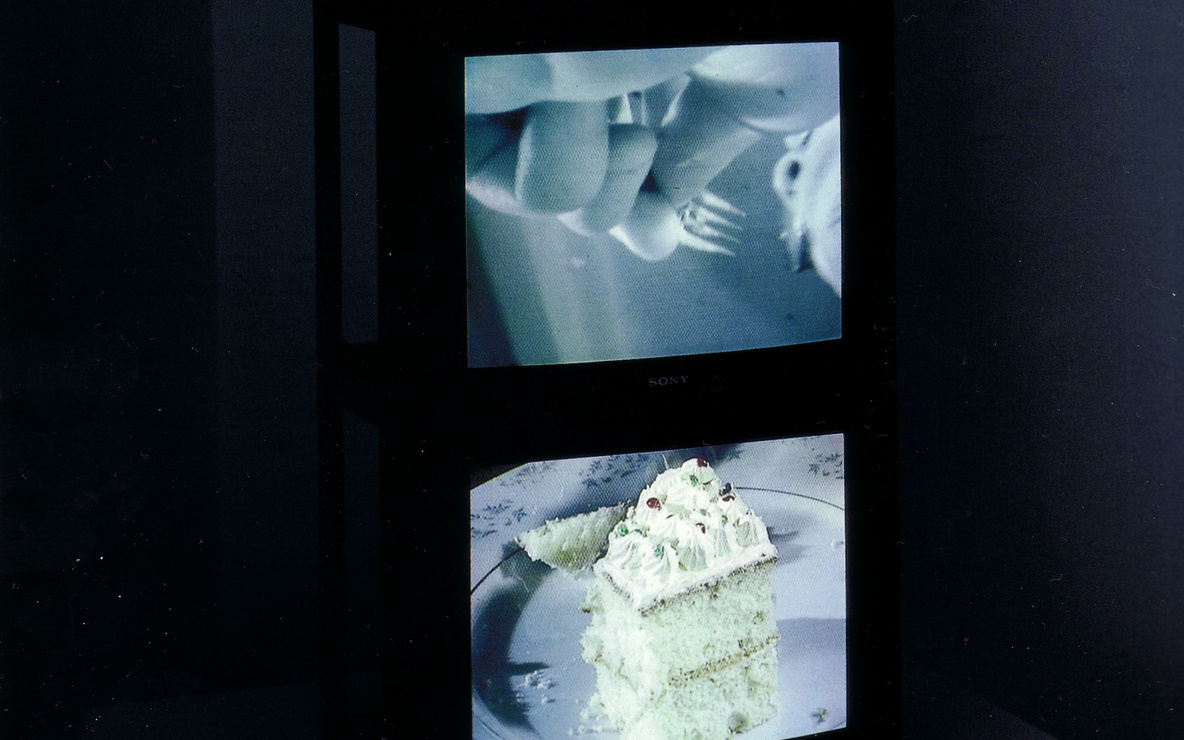Zhang Peili. *Eating.* 1997. Three-channel video (color, sound). Gift of The Junior Associates of the Museum of Modern Art. © 2016 Zhang Peili