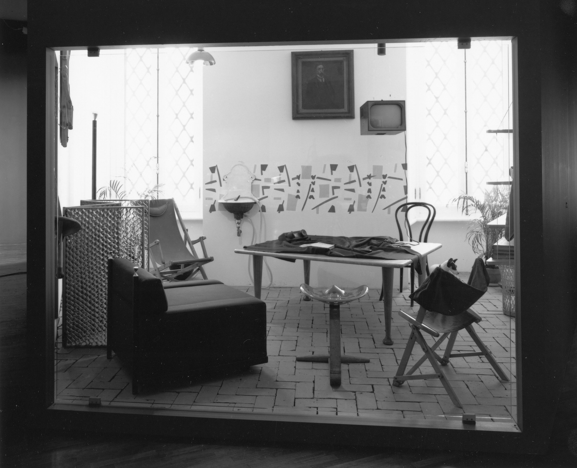 Installation view of Achille Castiglioni: Design! at The Museum of Modern Art, New York. Photo: Thomas Griesel